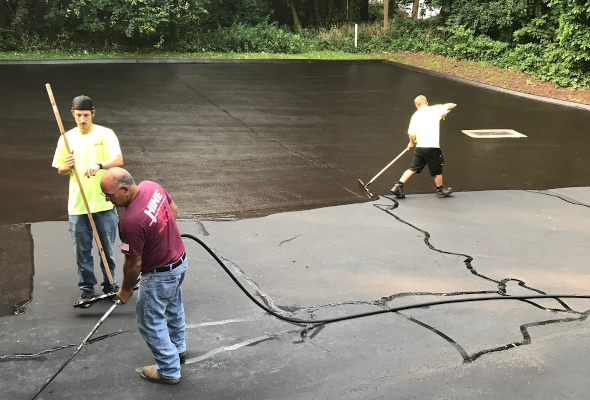 Sealcoating in Bethany Connecticut
