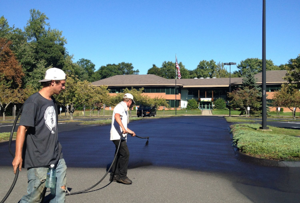 Sealcoating in Woodbridge Connecticut