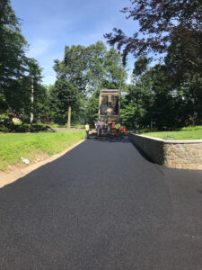 Driveway paving in Woodbridge