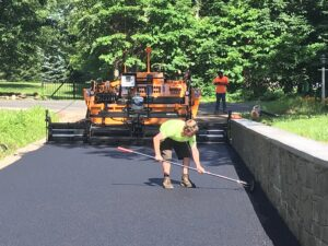 driveway paving in Orange, CT.